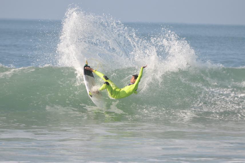 Compétiteur du Lacanau Surf